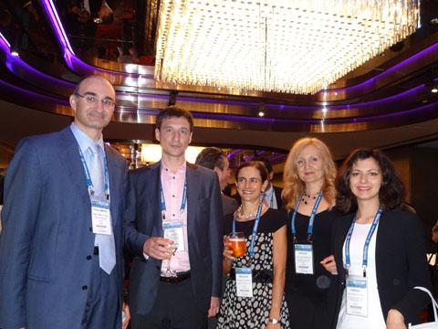 Dr. Franz-Martin Orou (FMO RECHTSANWALTSKANZLEI), Mr. Kirill Kistersky (IPR GROUP), Ms. Margarita Castellanos (CASTELLANOS & CO), Ms. Victoria Soldatova, Ms. Vitaliya Sinitsyna (IPR GROUP) at the reception of CCPIT Patent And Trademark Law Office